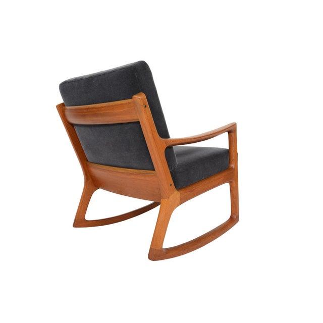 Ole Wanscher Teak Senator Rocking Chair - Image 5 of 8