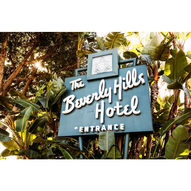 "Boho Chic ""Beverly Hills Hotel"" Original 24x36 Photograph For Sale - Image 3 of 3"