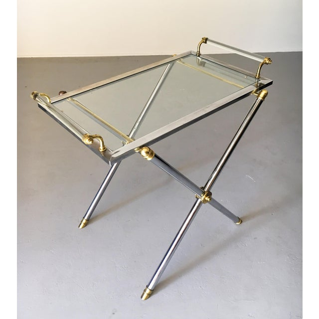 Vintage Maison Jansen Tray Table For Sale In Detroit - Image 6 of 13