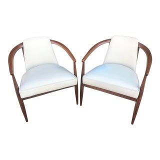 1960s Vintage Kodawood Lounge Chairs - A Pair For Sale