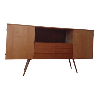 Solid Maple Planner Group Mid-Century Modern Credenza by Paul McCobb For Sale