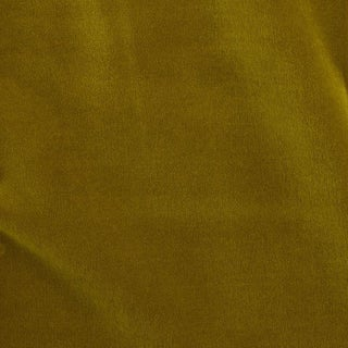 Schumacher Rocky Performance Velvet Fabric in Chartreuse For Sale