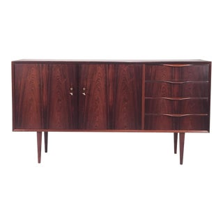 1960s Danish Modern Rosewood Sideboard For Sale