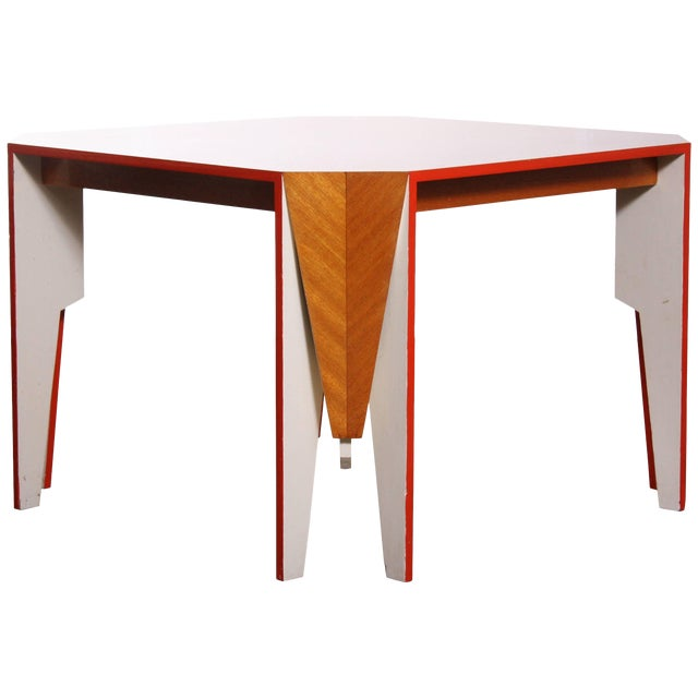 Modern Architectural Dining Table - Image 1 of 8
