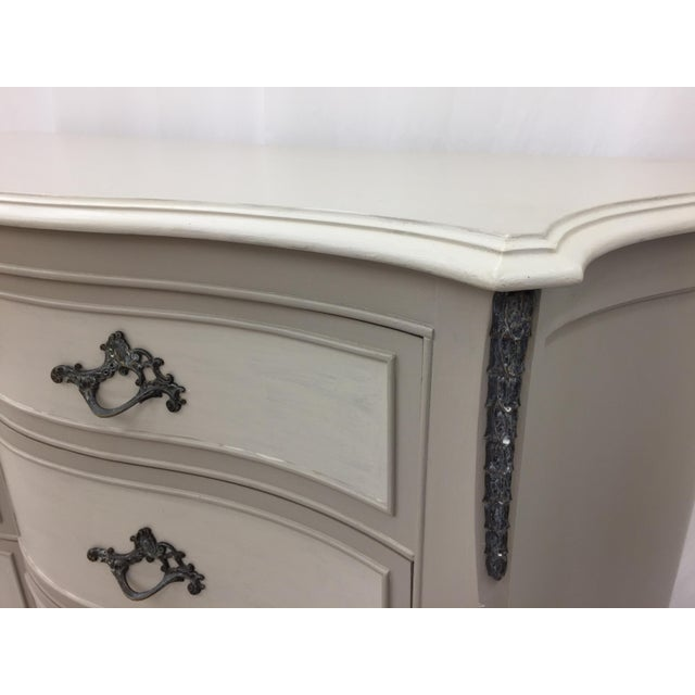 Vintage Hand Painted French Style Dresser - Image 3 of 11