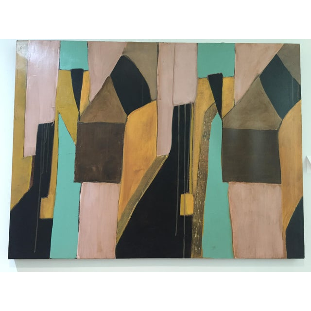 Contemporary Abstract by Artist Rick Griggs Dominium For Sale In Palm Springs - Image 6 of 6