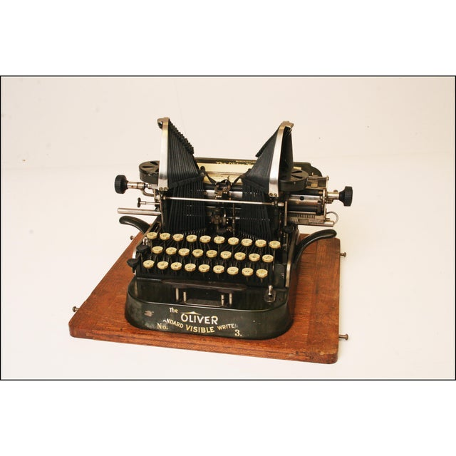 Vintage Oliver No 3 Typewriter With Case & Instructions - Image 3 of 11