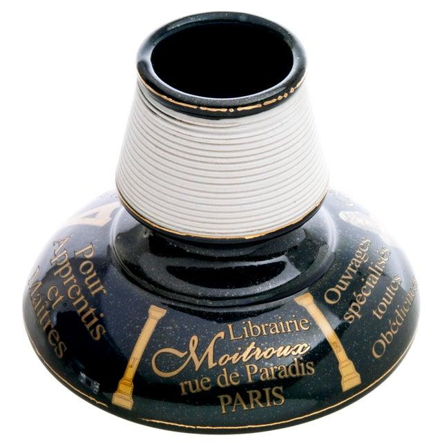 Vintage French Porcelain Librairie Moitroux Match Striker - Image 2 of 5