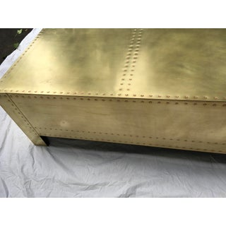 1970s Brass Clad Chest Attr. To Sarreid Preview