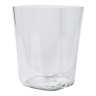 Tall Blown Glass Vase by Alvar Aalto for Iittala For Sale