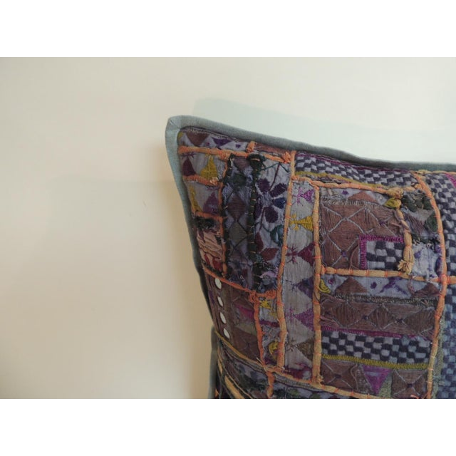 Vintage Large Colorful Indian Floor Decorative Pillow Vintage large colorful Indian floor decorative pillow with patchwork...