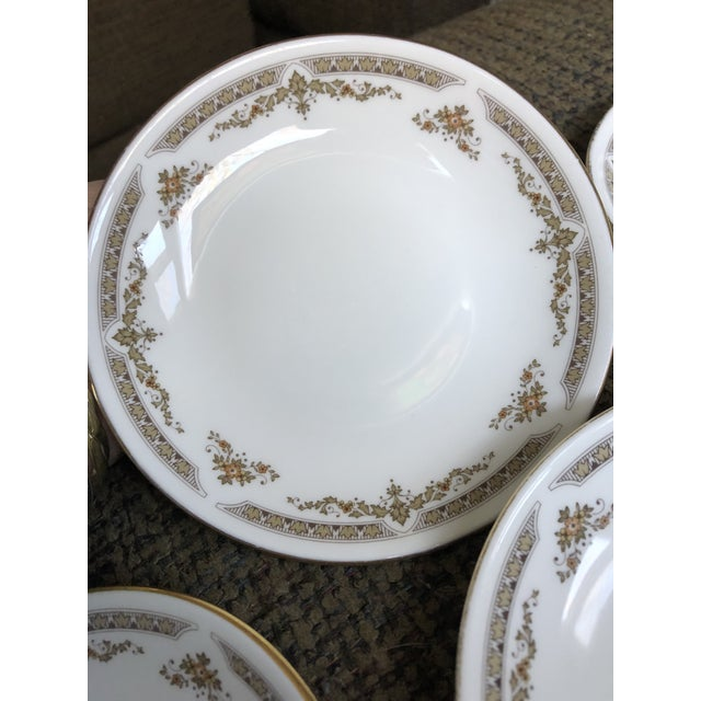 Royal Doulton Royal Doulton English China Dishes - Set of 4 For Sale - Image 4 of 6