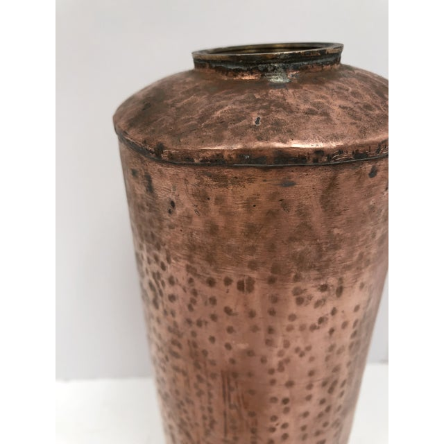 Late 19th Century Antique French Copper Bed Warmer/ Ice Water Server For Sale - Image 10 of 12