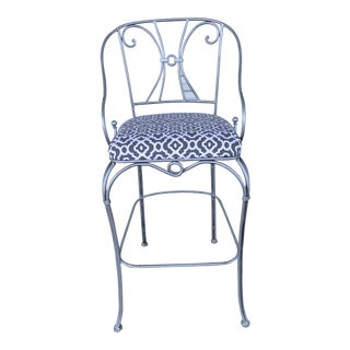 1990s Vintage High Top Chair For Sale
