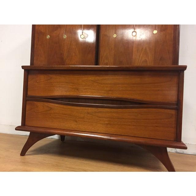 Walnut Mid-Century Dresser - Image 9 of 11
