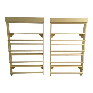 Late 20th Century Set of Two Hanging Shelves For Sale