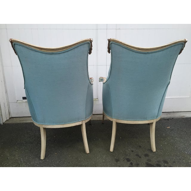 Hollywood Regency Grosfeld House Armchairs - A Pair - Image 5 of 11