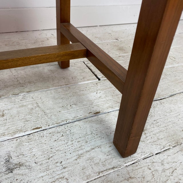 Textile 1960s Mid-Century Modern Dunbar Stool For Sale - Image 7 of 10