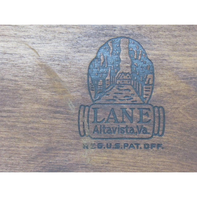 Acclaim Series Coffee Table by Andre Bus for Lane For Sale In Boston - Image 6 of 7