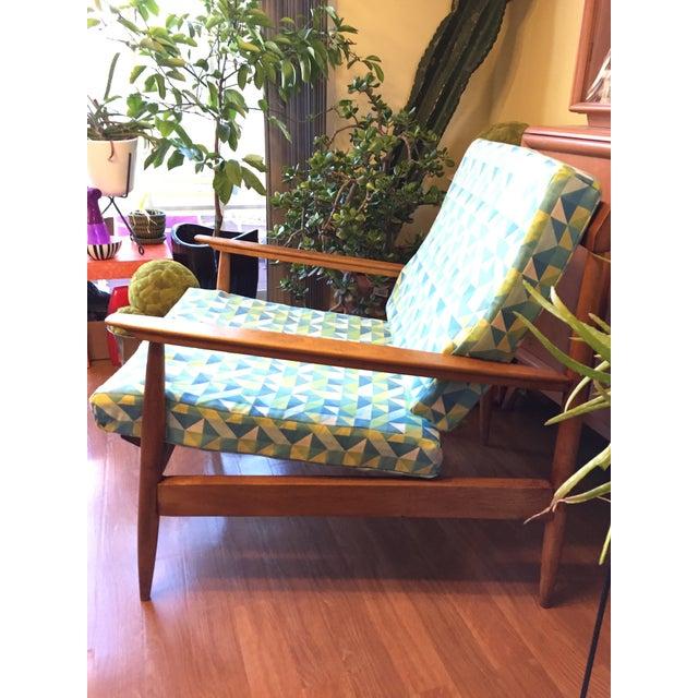Danish Modern Knoll Antimott Lounge Chair For Sale - Image 3 of 13