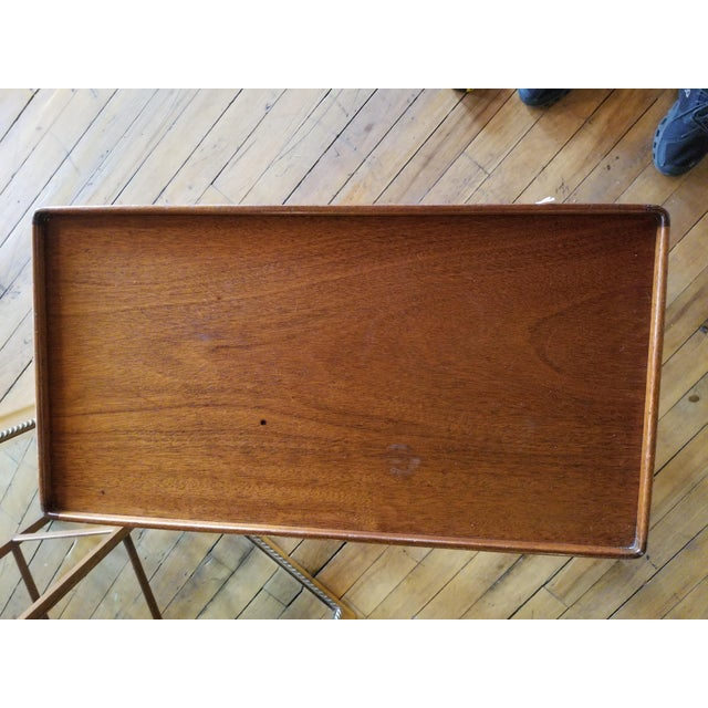Late 20th Century Chippendale Occasional Table From Waldorf Astoria For Sale In Raleigh - Image 6 of 8