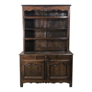 18th Century Country French Vaisselier - Buffet For Sale