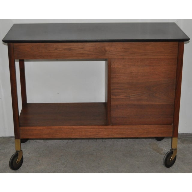 b6f763208e6ef Mid-Century Modern Paul McCobb Bar Cart For Sale - Image 5 of 5