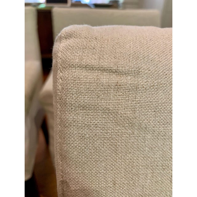 Contemporary Flexform Pausa Chairs- Set of 4 For Sale - Image 3 of 8