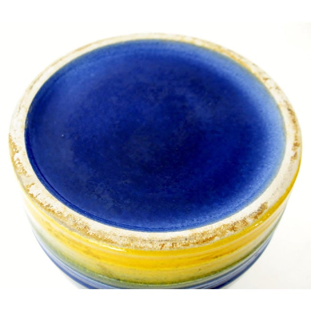 1960s Mid-Century German Ceramic Vase For Sale - Image 5 of 5