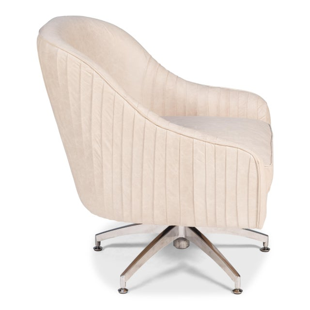 Modern Executive Swivel Chair For Sale - Image 3 of 5