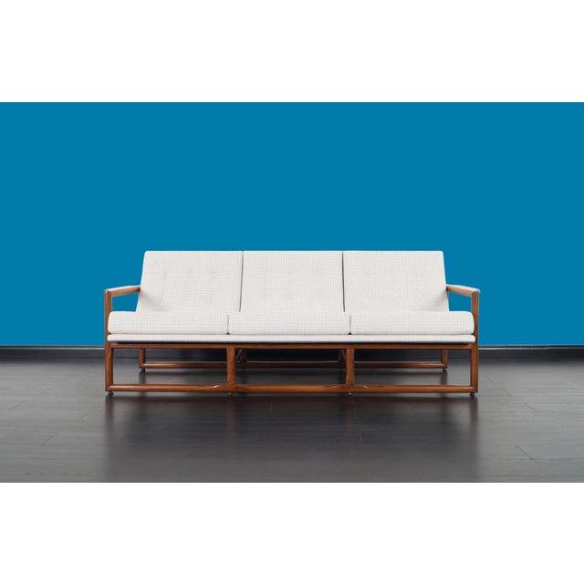 "Milo Baughman Mid Century ""Cube"" Sofa by Milo Baughman For Sale - Image 4 of 9"