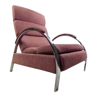 Mid-Century Modern Recliner Lounge Chair by George Mulhauser for DIA For Sale