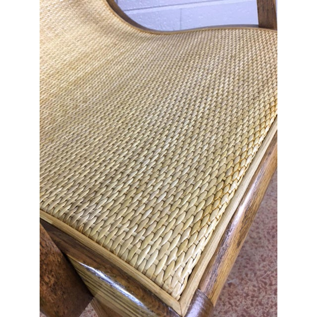Oak Cane Sling Side Chair - Image 7 of 8