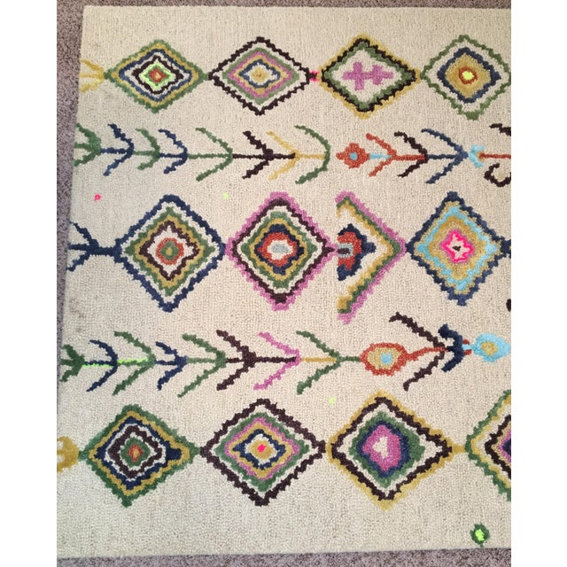 Berber Moroccan-Style Rug - 5′ × 8′ - Image 3 of 9