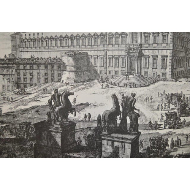 Piranesi Print by Sidney Z Lucas C.1950 For Sale In San Francisco - Image 6 of 8