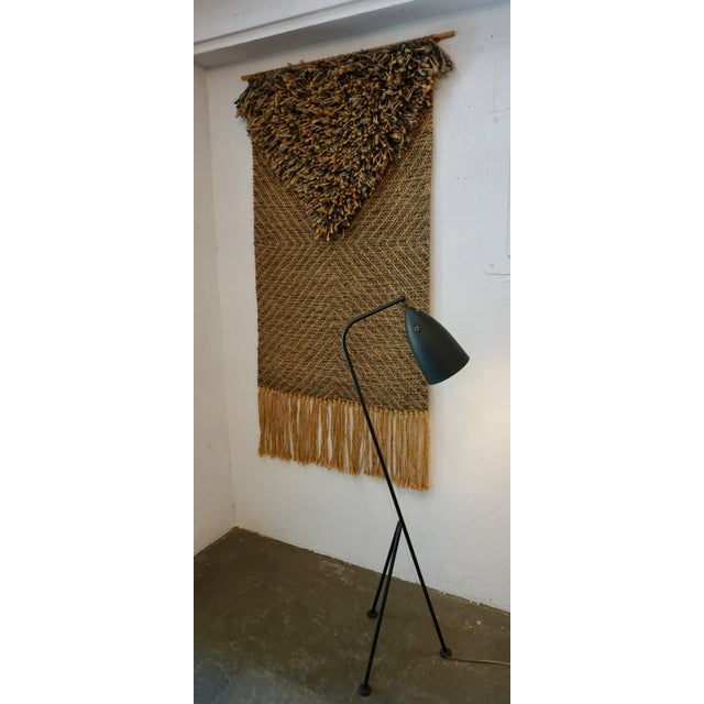 Boho Chic 1970's Woven Tapestry by Eve Rabinowe For Sale - Image 3 of 8