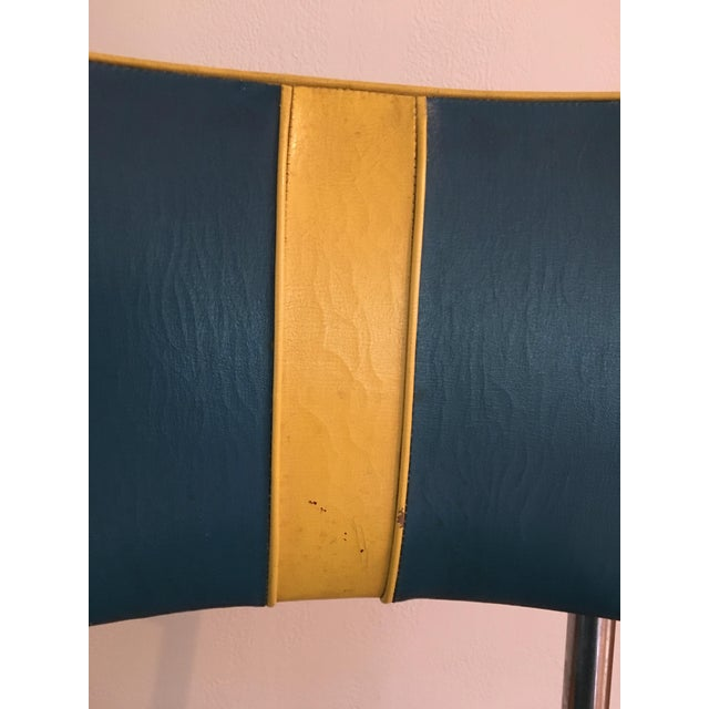 RoyalChrome Furniture Art Deco Dinette 3-Piece Set For Sale - Image 10 of 11