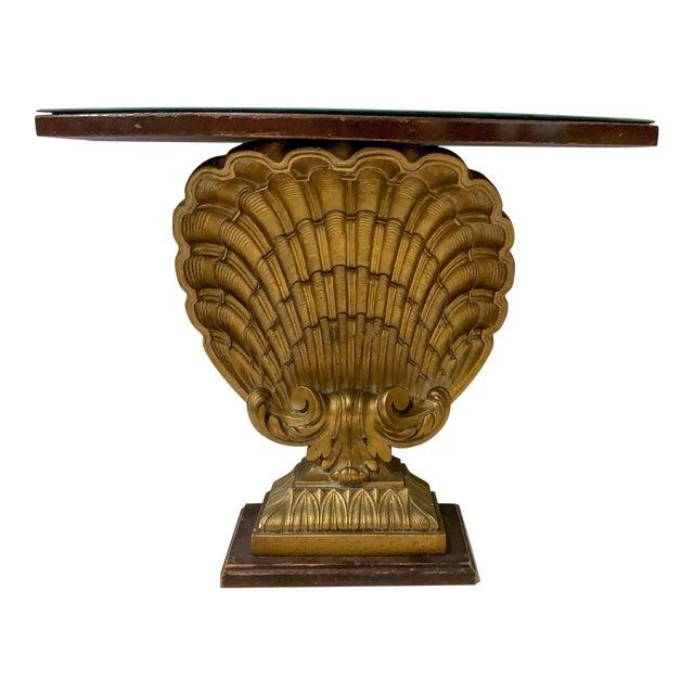 Hollywood Regency Shell Console Table Att. Grosfeld House For Sale