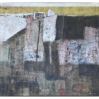 Stanley Bate, 'Martos' Painting, Circa 1960 For Sale