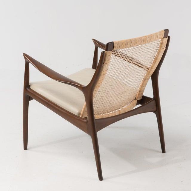 1960s Mid Century Modern Ib Kofod Larsen Selig Armchair For Sale - Image 5 of 13