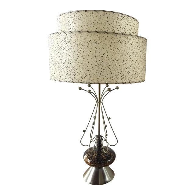 Mid-Century Modern Atomic Age Sputnik Table Lamp For Sale