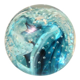 Caithness Scottish Hand Blown Paperweight For Sale