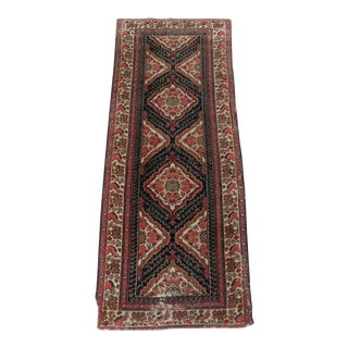 Antique Hand-Knotted Persian Malayer Runner- 2′11″ × 7′6″ For Sale