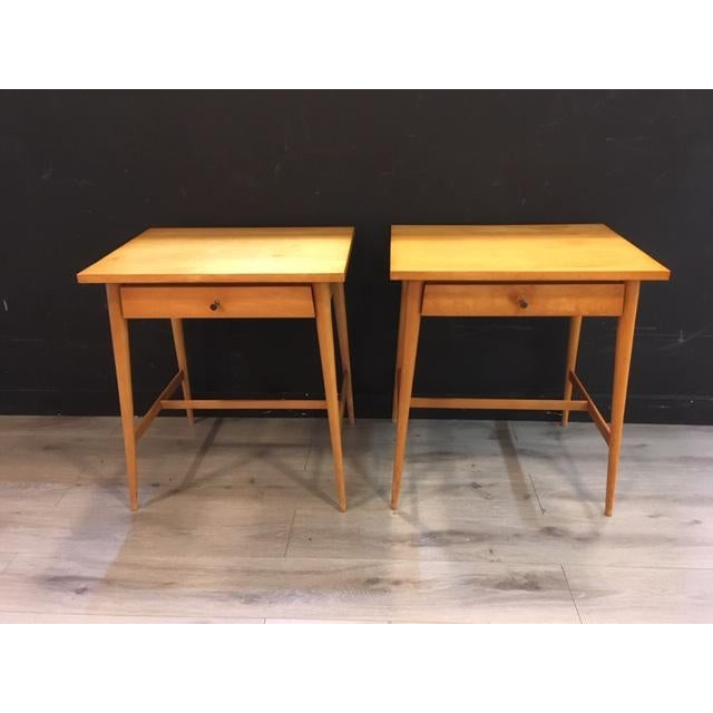 Paul McCobb Planner Group / Winchendon Maple Nightstands For Sale - Image 9 of 9