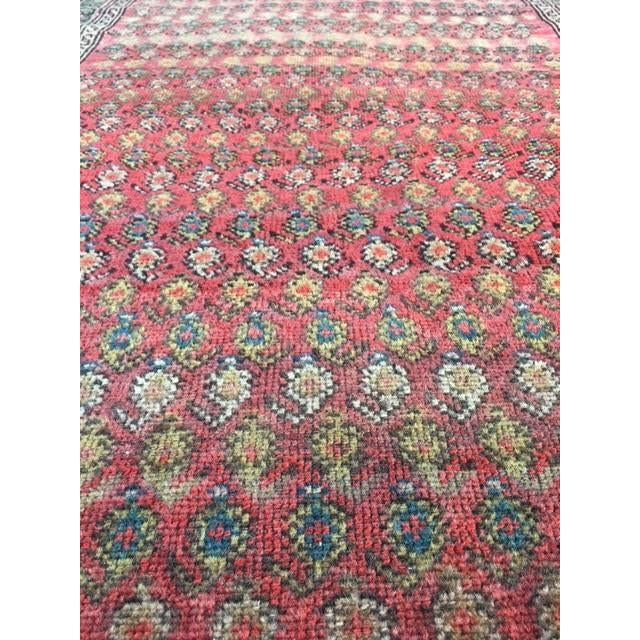 "Antique Hamadan Rug - 3'4"" X 6'6"" - Image 4 of 9"