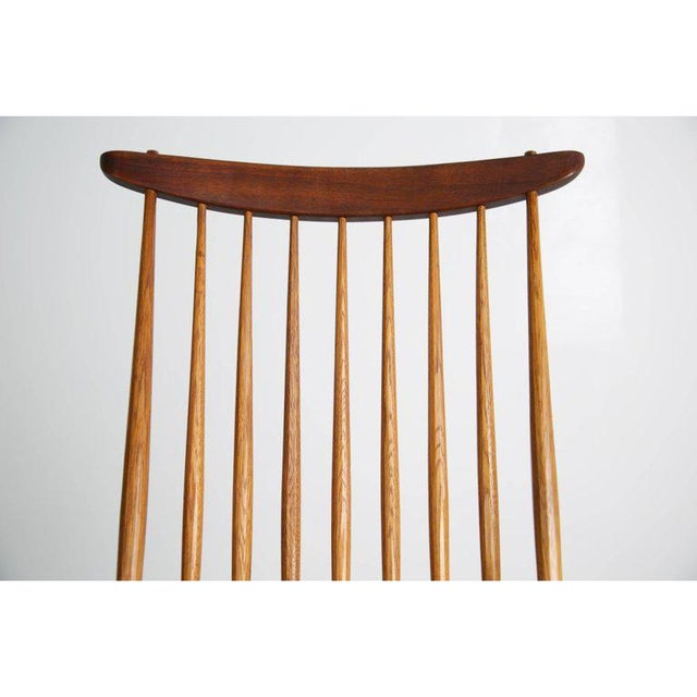 "George Nakashima ""New"" Chairs, Set of Eight, Authenticated 1960s Production For Sale - Image 9 of 13"