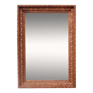 Late 19th Century American Gilt Wall Mirror For Sale