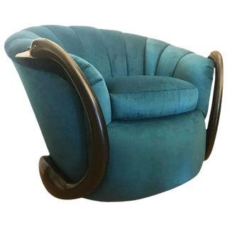 Rare Swan Leda Lounge Chair For Sale