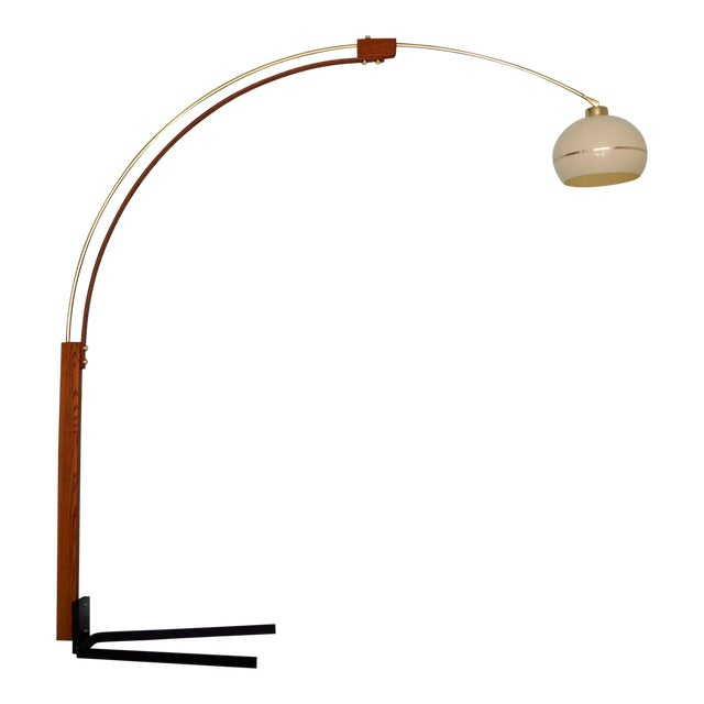 Mid-Century Modern Nova Lighting Arc Floor Lamp For Sale