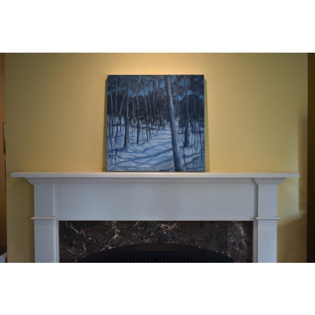 "Titled ""Silent Moonlight"". Walking the snowy trails by the light of the moon. Painted in 2019. This is professional grade..."
